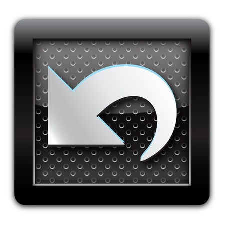 ivories: Arrow metal icon