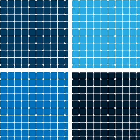 bad fliesen: Pattern blauen Kacheln Textur Illustration