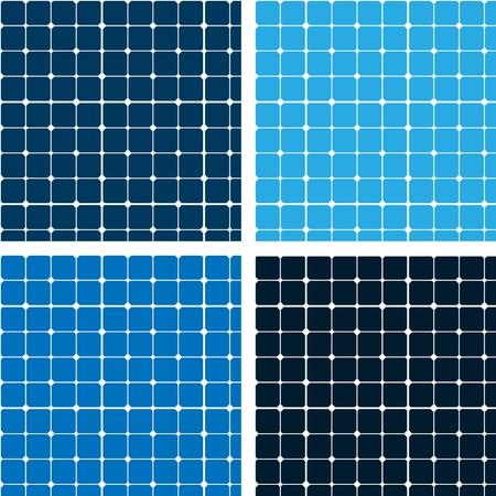shiny floor: Pattern blue tiles texture Illustration