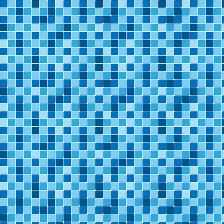 Pattern blue tiles texture Illustration