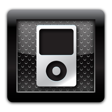 Music player icon photo