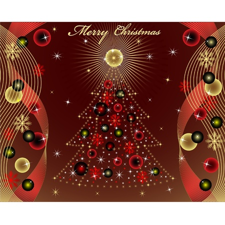 Merry Christmas Stock Vector - 11666753