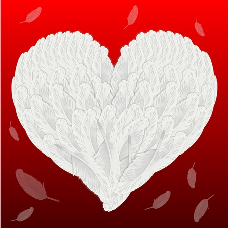 covetous: Valentine Stock Photo
