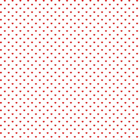 Seamless pattern hearts Illustration