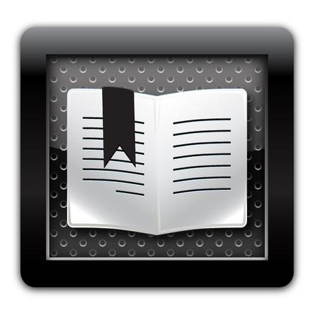 lyrics: Bookmark metal icon