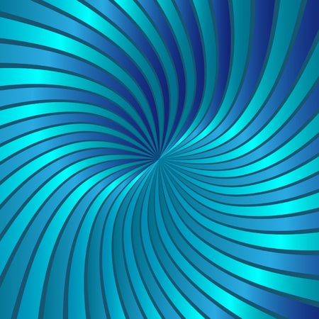 Blue spiral vortex vector  Vector