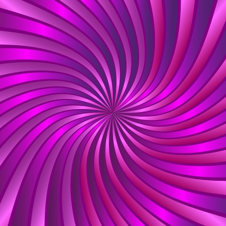 hypnose: Pink spiral vortex vector  Illustration