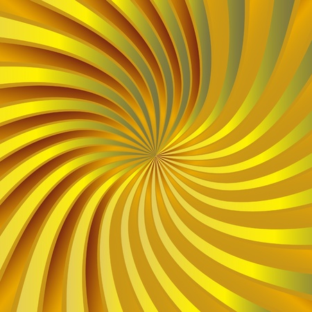 hypnose: Yellow spiral vortex
