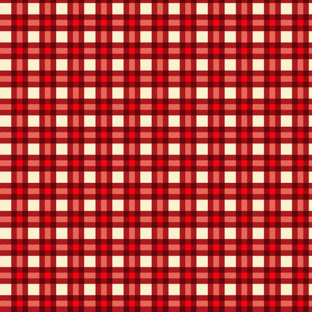 picnic cloth: Seamless pattern tablecloth vector Illustration