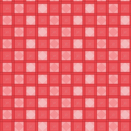 Seamless pattern tablecloth vector Vector