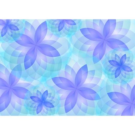 Background abstract lotus flower vector Stock Vector - 12900816