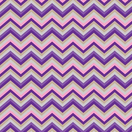 패턴 레트로 지그재그 셰브론