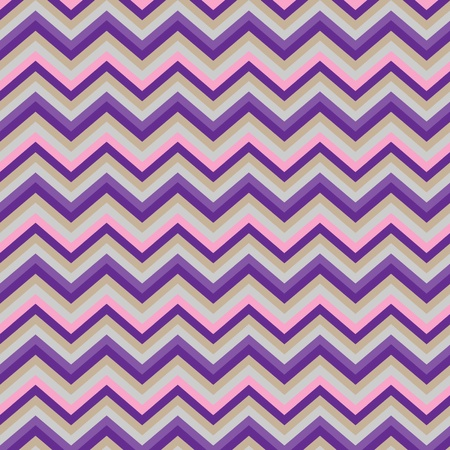 Pattern Retro Zig Zag Chevron Stock Vector - 13232496