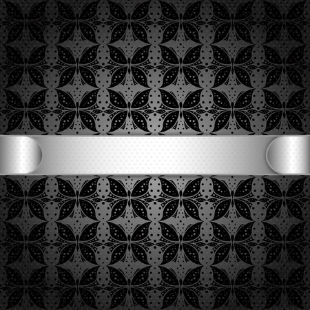 baroque wallpaper: Elegant Banner Abstract Background