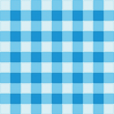 Pattern picnic tablecloth vector Vector