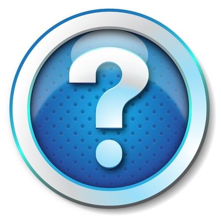 ivories: Help web icon  Stock Photo