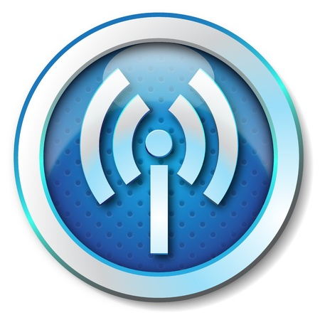 Wireless WLAN icon  photo