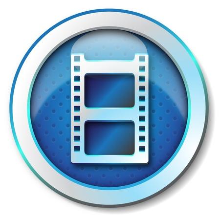 Photo frame icon  Stock Photo