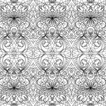 indian pattern: Background fabric indian style