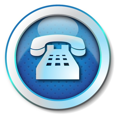 Telephone icon Stock Photo - 15317052