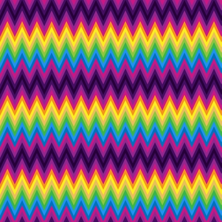 mod: Pattern Retro Zig Zag Chevron Vector
