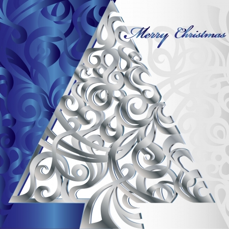 Merry Christmas Tree  Stock Vector - 16246263