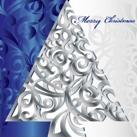 Merry Christmas Tree Stock Vector - 16246263