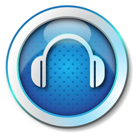 Headphone icon  photo