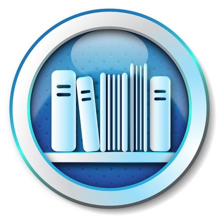 folio: E-book library icon