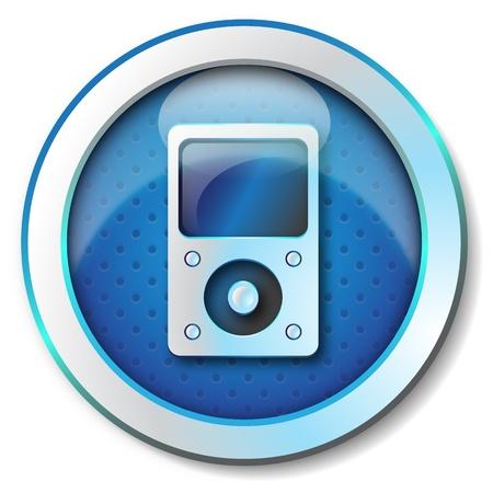unbutton: Music player icon