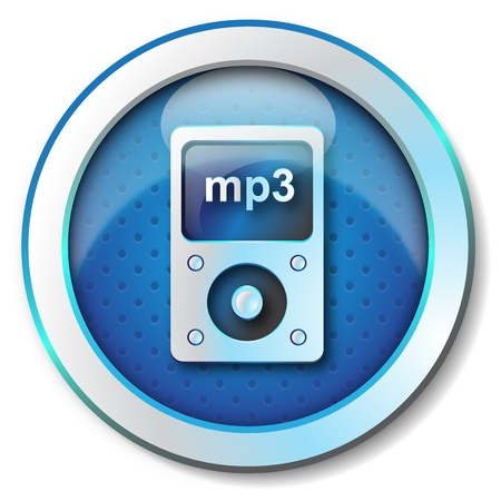 Mp3 player icon  photo