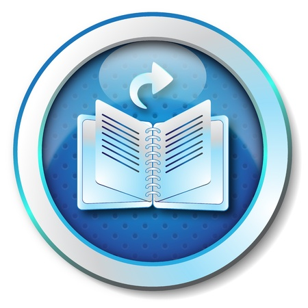 E-book browse forward icon  photo