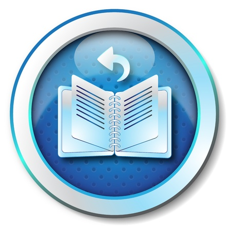 E-book browse back icon  photo