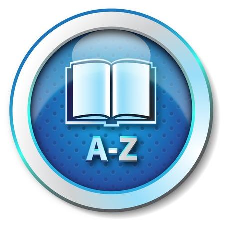 온라인 사전 AZ 아이콘