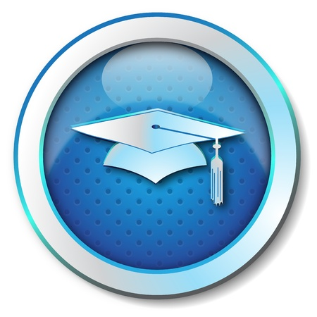 thesis: Graduation cap icon