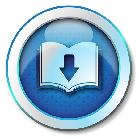 elettronic: Ebook download icon