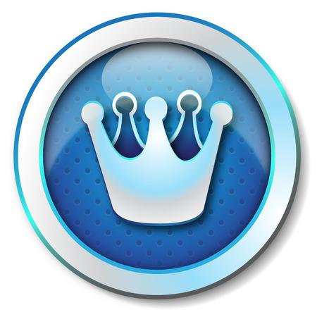 Crown icon Stock Photo - 23287685