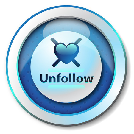 Unfollow icon photo