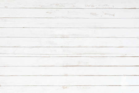White gray wood color texture horizontal for background. Surface light clean of table top view. Natural patterns for design art work and interior or exterior. Grunge old white wood board wall pattern.