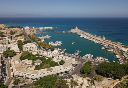 Aerial view of Mandrake Port Reklamní fotografie
