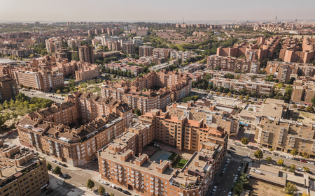 Residential district in Madrid