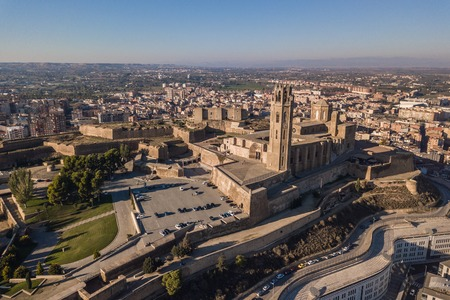 The Seu Vella cathedral in Lleida