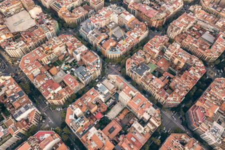 Typical quarters of Barcelona