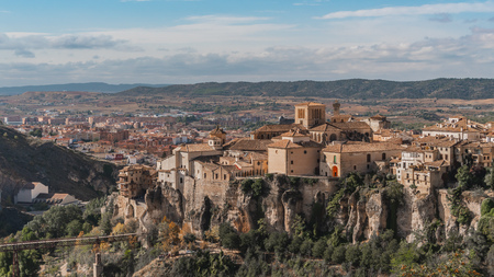 Cuenca, picturesque place in Spain Stock Photo
