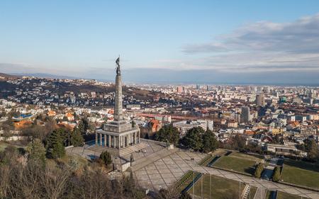 Slavin War Memorial in Bratislava
