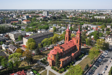 Aerial view of Panevezys