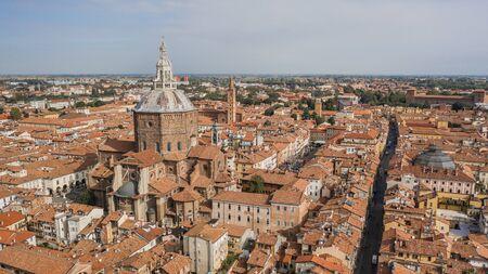 Paesaggio urbano di Pavia Archivio Fotografico
