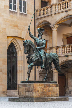 Statue of Eberhard I in the Old Castle in Stuttgart
