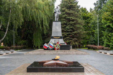 Memorial to the soldiers died in Second World War