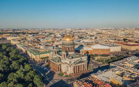 St. Isaacs Cathedral in St. Petersburg